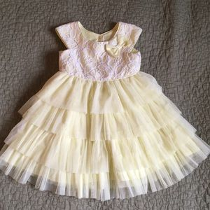 Yellow Tulle Easter Dress